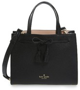 Kate Spade Hayes Street Small Isobel Leather Satchel - Black