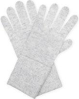 William Sharp Crystal embellished cashmere gloves