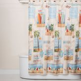 Bed Bath & Beyond Beach Time Shower Curtain