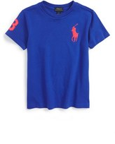 Ralph Lauren Toddler Boy's Big Pony Embroidered T-Shirt