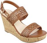 Liz Claiborne Kian Wedge Sandals