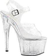 Pleaser USA Women's Adore 708MMG Ankle-Strap Platform Sandal