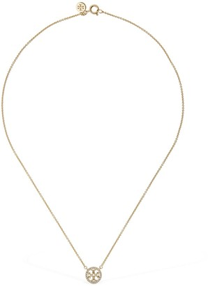 Tory Burch Miller Pave Pendant Necklace
