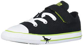 Converse Baby Chuck Taylor All Star Dinosaur Print Hook and Loop Low Top Sneaker