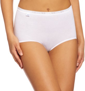 Sloggi Women's Basic Maxi 3 Pack plain Basic+ premium comfort Knickers