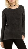 Volcom Women's Twisted Mr Cotton Sweater