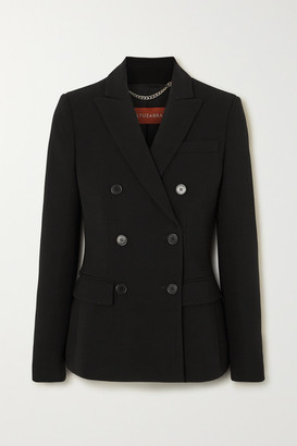 Altuzarra Indiana Double-breasted Cady Blazer - Black