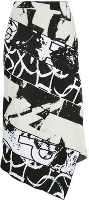 Proenza Schouler Asymmetric Pencil Skirt