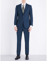 Richard James Slim-fit Wool And Mohair-blend Suit