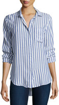 Rails Aly Striped Oxford Shirt, Blue/White