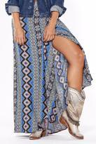 Llena eres de Gracia Wrap Maxi Skirt