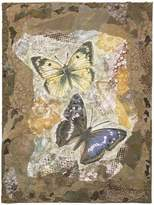 """McGaw Graphics Honeycomb Butterflies by Annabel Hewitt, Art Print Poster, Paper Size 14"""" x 11"""" Image Size 12"""" x 9"""""""