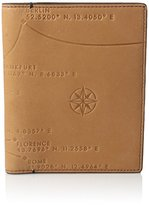 Fossil Men's Rfid Blocking Defender Europe Passport Case