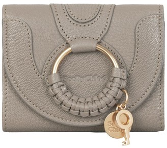 See by Chloe Mini Leather Hana Trifold Wallet