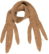 Sonia Rykiel Caramel Knit Scarf