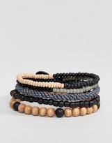 ICON BRAND Geo Beaded Bracelets In Pack