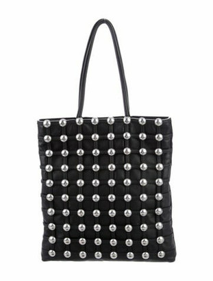 Alexander Wang Caged Shopper Tote Black