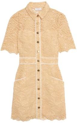 Sandro Live Lace Mini Dress
