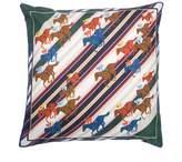 Bivain - Racing Stripes Silk Cushion