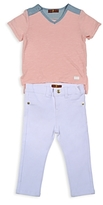 7 For All Mankind Girls' Tee & Skinny Jeans Set - Baby