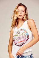 Chaser x Free People Womens TOM PETTY TANK