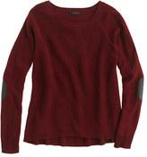 J.Crew Elbow-patch sweater