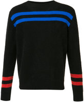 The Elder Statesman cashmere striped jumper - unisex - Cashmere - XXS