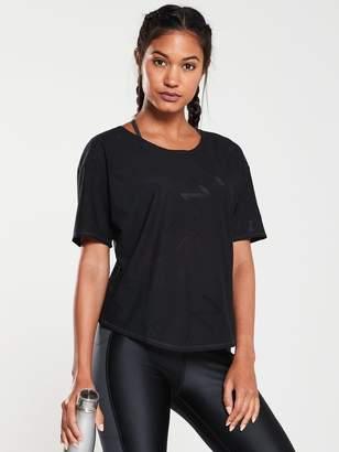 Nike Running SS Air Tee - Black