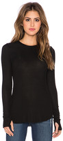 Michael Lauren Alick Long Sleeve Thumbhole Tee