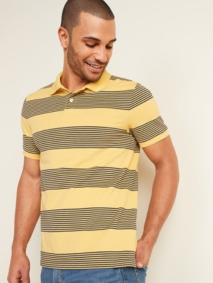 Old Navy Striped Moisture-Wicking Pro Polo for Men