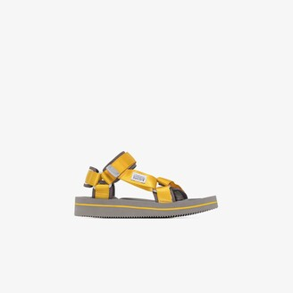 Suicoke Yellow DEPA-V2EU3 strap sandals