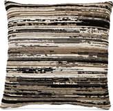 "Hallmart Collectibles Varigated Chenille 18"" Square Decorative Pillow"