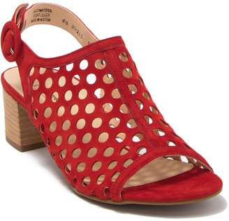 Paul Green Tico Suede Cutout Sandal