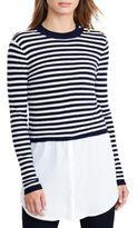 Lauren Ralph Lauren Layered Wool Sweater