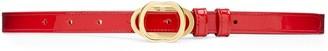 Stuart Weitzman Double Buckle Signature Belt 15mm