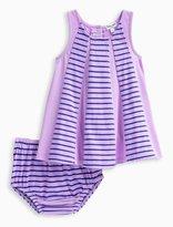 Splendid Baby Girl Stripe Overlay Dress