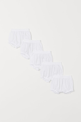 H&M 5-pack Puff Pants - White