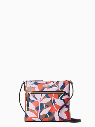 Kate Spade Jackson Tropical Toss Top Zip Crossbody