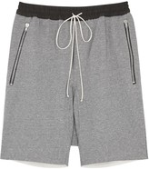 Fear Of God Grey Cotton Jersey Shorts