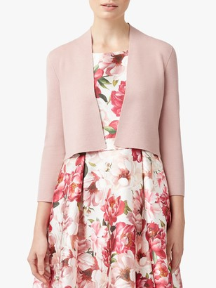 Hobbs Abbey Cardigan, Pale Pink