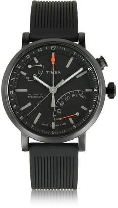 Timex Metropolitan Black Brass Case Men's Watch w/Interchangeable Strap