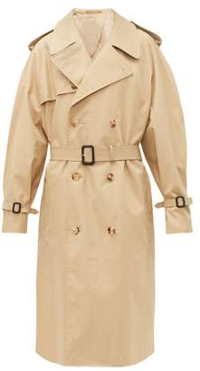 Wardrobe.Nyc Wardrobe.nyc - Release 04 Double-breasted Cotton Trench Coat - Womens - Khaki