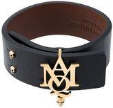 Alexander McQueen logo cuff