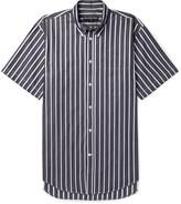 Balenciaga - Button-down Collar Striped Cotton-poplin Shirt