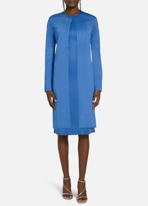 St. John Liquid Milano Knit Sequin Jacket
