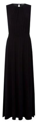 Dorothy Perkins Womens Black Grecian Maxi Dress, Black