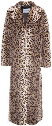 Stand Studio Alena Leopard-print Faux Fur Coat