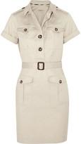 Burberry Stretch-cotton twill mini dress