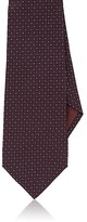 Giorgio Armani Men's Medallion-Print Silk Necktie