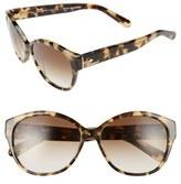 Kate Spade 'kiersten' 56mm Cat Eye Sunglasses